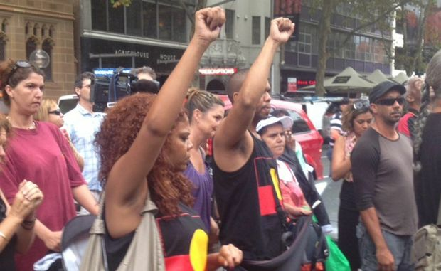The Aboriginal Lands Council has added support to the Bowraville Protest March in Sydney today.