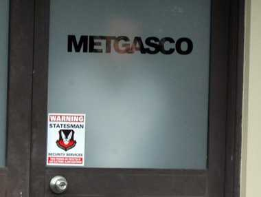 Metgasco's office in Johnston Street, Casino.