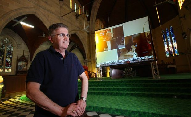 Rockhampton priest John Hogan said there had been a positive and emotional response from the local community regarding the appointment of the Pope.