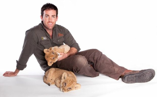 Ben Britton stars in Nat Geo Wild's Big Cat Week.