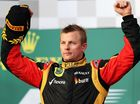 Racer Raikkonen back in running for Forumla 1 world title