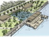 GLADSTONE'S $42 million waterfront redevelopment is halfway to completion with installation of key facilities well under way.