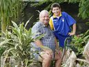 GRANDPARENTS Day at Glamorgan Vale State School allowed grandfather Rodney Wendt to reflect on his days at the school and to catch up with grandson Damon.