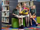 A NEW library at East Ipswich State School bears the name of a long-serving Ipswich teacher-librarian.