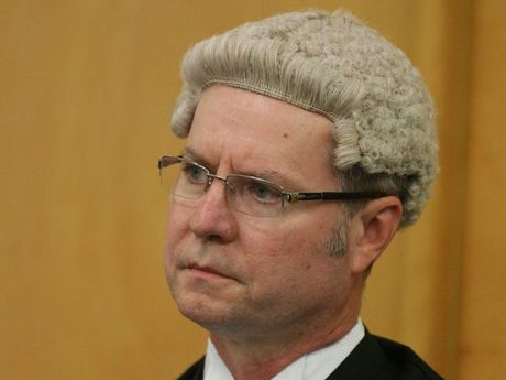 New Rockhampton District Court Judge Paul Smith at his official welcoming. Photo: Chris Ison / The Morning Bulletin