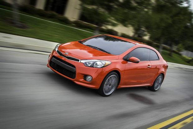 The new Kia Cerato Koup.