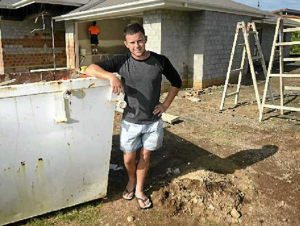 Apprentice bricklayer Jack Goodman-Jones was the only person who could perform CPR after a workmate had a heart attack on a job site in Tannum Sands.