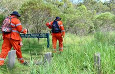 SES on the scene at Mt Jim Crow, for a police search. Photo Sharyn O'Neill / The Morning Bulletin