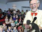 Kids feel magic of puppets, theatre