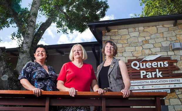 CULTURAL WEALTH: Lesley Kanofski, Heather Morrow and Toni Risson.