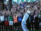 Nation's leaders praise golfer Adam Scott for US Masters win