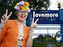 "LISMORE will become Lovemore for the month of May following a reconciliation of sorts last week between Lismore councillors and the Aquarius ""immigrants""."