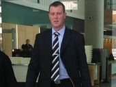 A FORMER police detective has been sentenced to jail with immediate parole after stalking another ex girlfriend.
