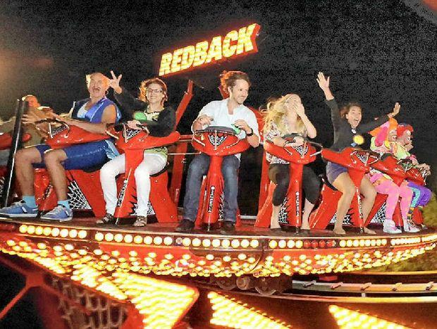 Ride the Redback at Aussie World's Twilight Night on Anzac Day.