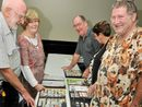 LISMORE'S stamp collectors were out in force on the weekend in an attempt to woo young people back into the philatelic fold.