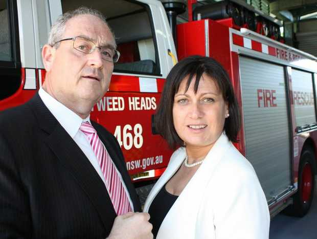 State Labor Shadow Minister Walt Secord and Richmond MP Justine Elliot are concerned about funding cuts to our fire stations.