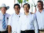THE southern hemisphere's largest meat processing plant – JBS at Dinmore – on Tuesday played host to China's Agriculture Minister.