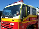 A STORAGE shed business has caught fire in Tivoli this afternoon.