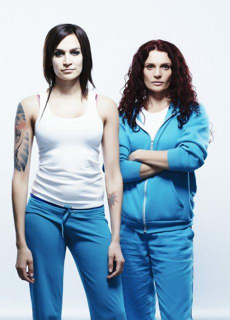 Nicole da Silva and Danielle Cormack star in the TV series Wentworth.