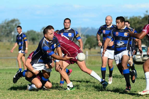 Ipswich Rugby League A grade game between Fassifern Vs Goodna at Harrisville. Photo: David Nielsen / The Queensland Times