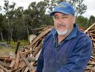 RECYCLING: Leyburn's Brett Rostron has notched up another major client for his business Leyburn Kindling.