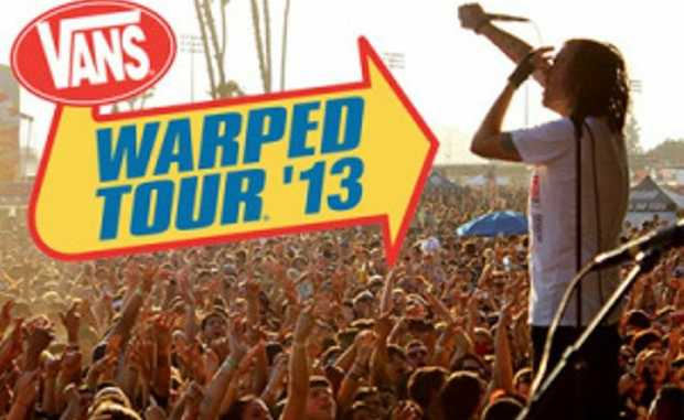 Coffs Harbour will host a leg of the Vans Warped Tour.