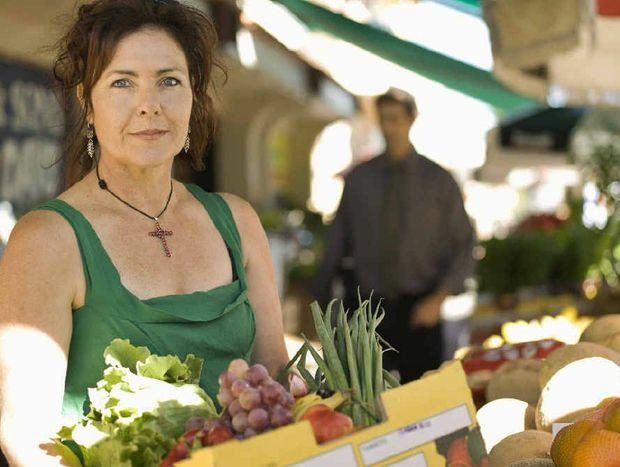 TO MARKET, TO MARKET: Shopping at your local market puts you in direct contact with the people growing the produce.