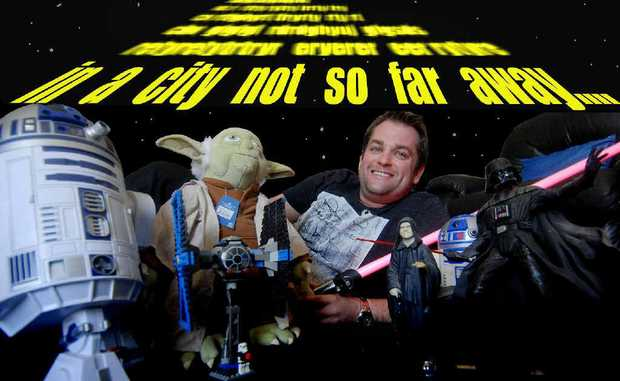 Mackay self-confessed Star Wars geek Anthony Edwards is geared up to celebrate International Star Wars Day