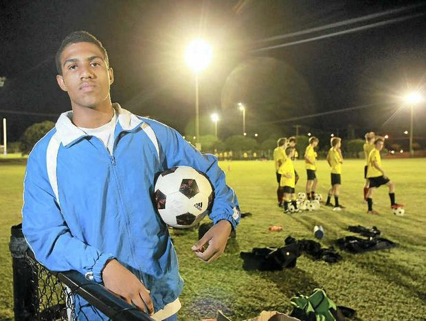 Young Woombye player and Queensland rep Josh Sansucie has signed with the Newcastle Jets' youth team.