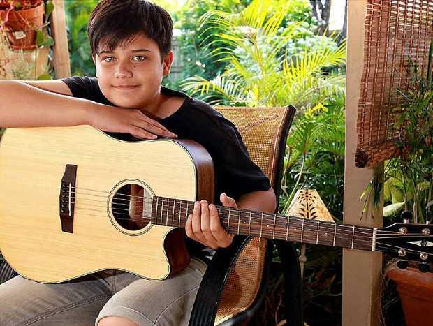 Kuluin's Mason Hope, 13, has learnt how to overcome anxiety.