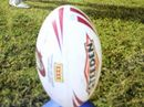 A FATHER of six was flown  to Nambour Hospital after suffering a severe neck injury during a rugby league match at Kandanga on Saturday.