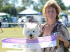 BEST ON SHOW: Kerry Maguire with her Supreme Champion Maceltic Clan Griffyndor.