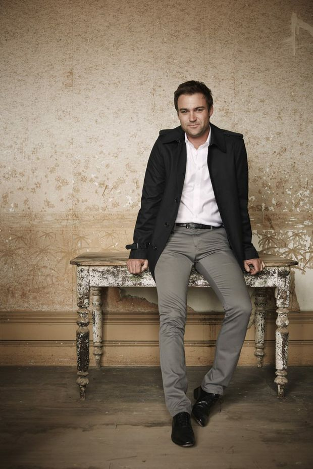 Matthew Le Nevez stars in the TV series Offspring.