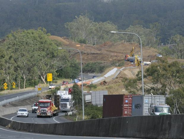 Frustration with road works boiled over for one truck driver who was fined for obstructing traffic on the Toowoomba Range.