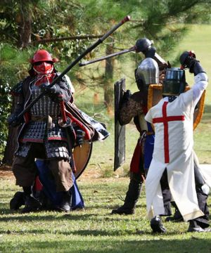 Scenes from the former Society for Creative Anachronism: Great Northern War events.