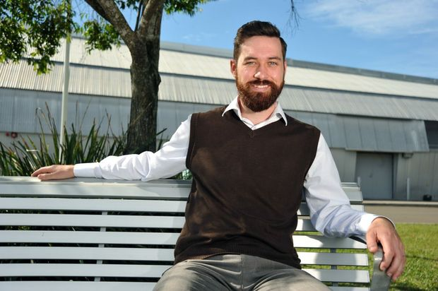 David Knobe has been announced as the new Greens candidate for Fairfax, pictured here at the University of the Sunshine Coast. Photo: Iain Curry / Sunshine Coast Daily