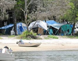 Inskip campers forced out by smells, flies and disease