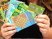 A CQ man is counting his lucky stars after winning $200,000 on the Instant Scratch-Its around the World Game Book.