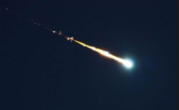 A meteorite may have been spotted crashing to earth off the Mid North Coast this evening. NASA.