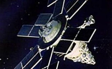 A former Soviet military satellite part of the Molniya launches.