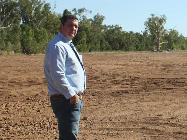 Cloncurry Mayor, Andrew Daniels.