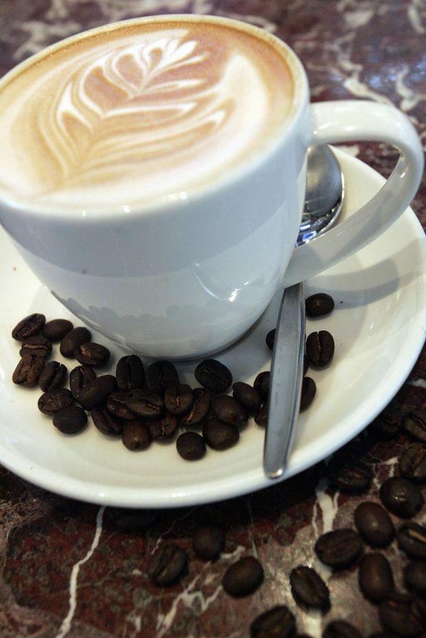 Aroma's coffee magic.