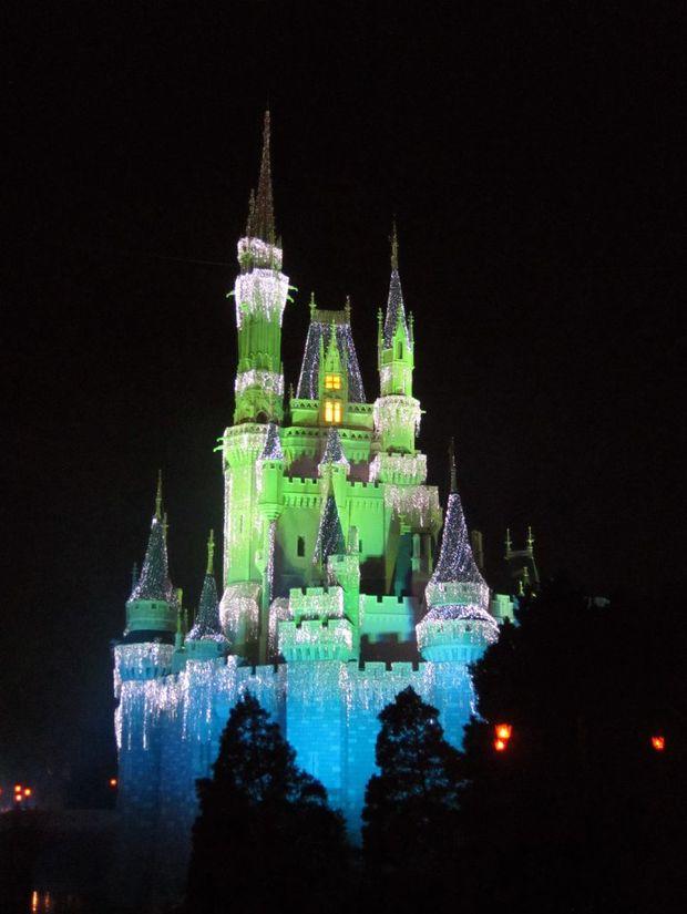 The Magic Kingdom at Disney World, Florida.