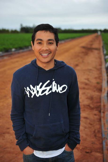 WORLD REFUGEE DAY: Tam Dang of SSS Strawberries shares his story about being a refugee. Photo: Mike Knott / NewsMail