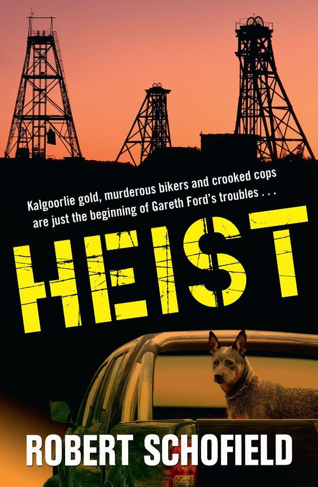 Cover of book Heist by Robert Schofield. Photo: Allen & Unwin