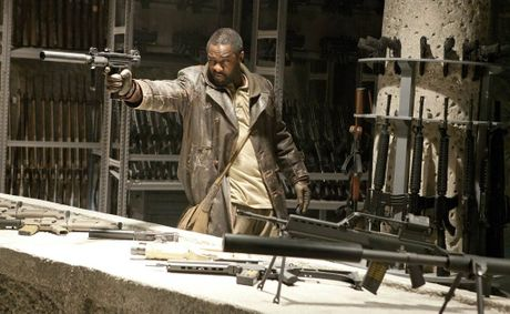 Idris Elba in Columbia Pictures' action thriller Ghost Rider: Spirit of Vengeance.