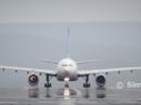 Jet engine explodes on runway
