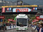 Tour de France opens to chaos and confusion