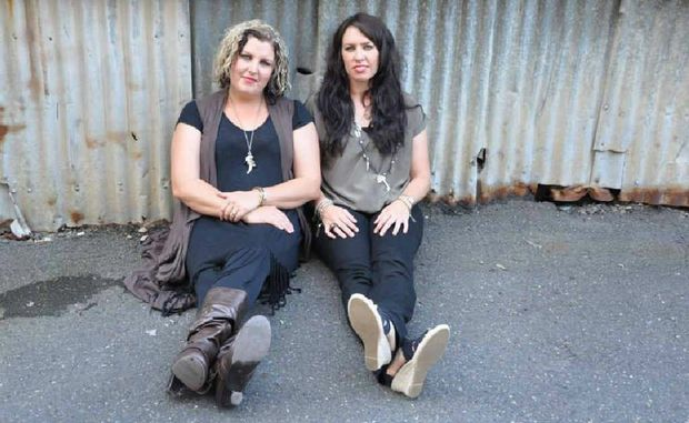 Sisters Rachel and Bec Olsson have teamed up to form country due Innocent Eve.