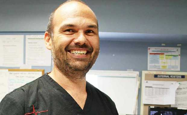 TEAM LEADER: Gladstone Hospital's new Emergency Medicine director Dr Ray Gadd.